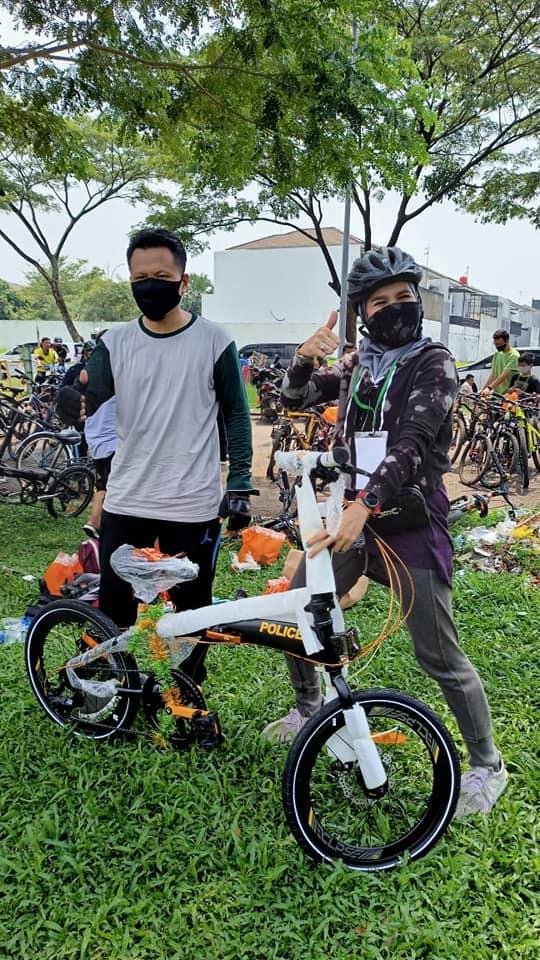 Pemenang Doorprize Utama Sepeda Goes No.42