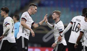 Skuad Jerman (Foto AFP)