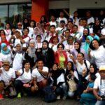 Inilah para anggota komunitas bloger di acara ini (foto: dok pribadi Bunda Sitti Rabiah)