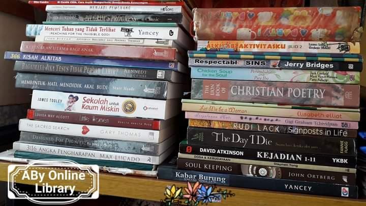 Buku koleksi penulis. Dokpri