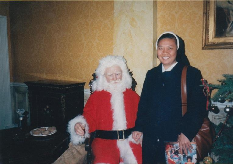 bersama  Santa  Claus